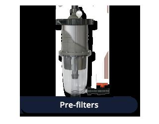 Pre-filters
